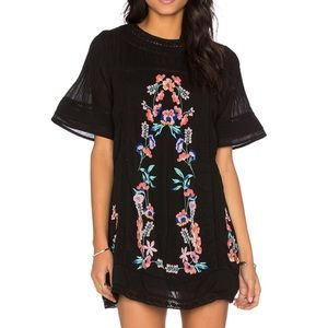 Free people perfectly Victorian mini dress…
